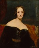 NPG 1235; Mary Wollstonecraft Shelley by Richard Rothwell